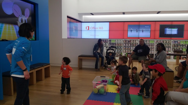 Tech Tots Classes at The Microsoft Store