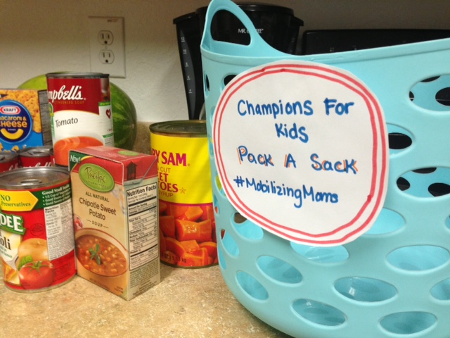 Pack A Sack For Kids #MobilizingMillions