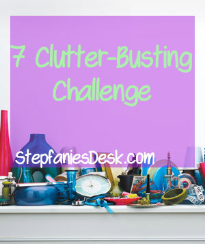 May Clutter-Busting Challenge