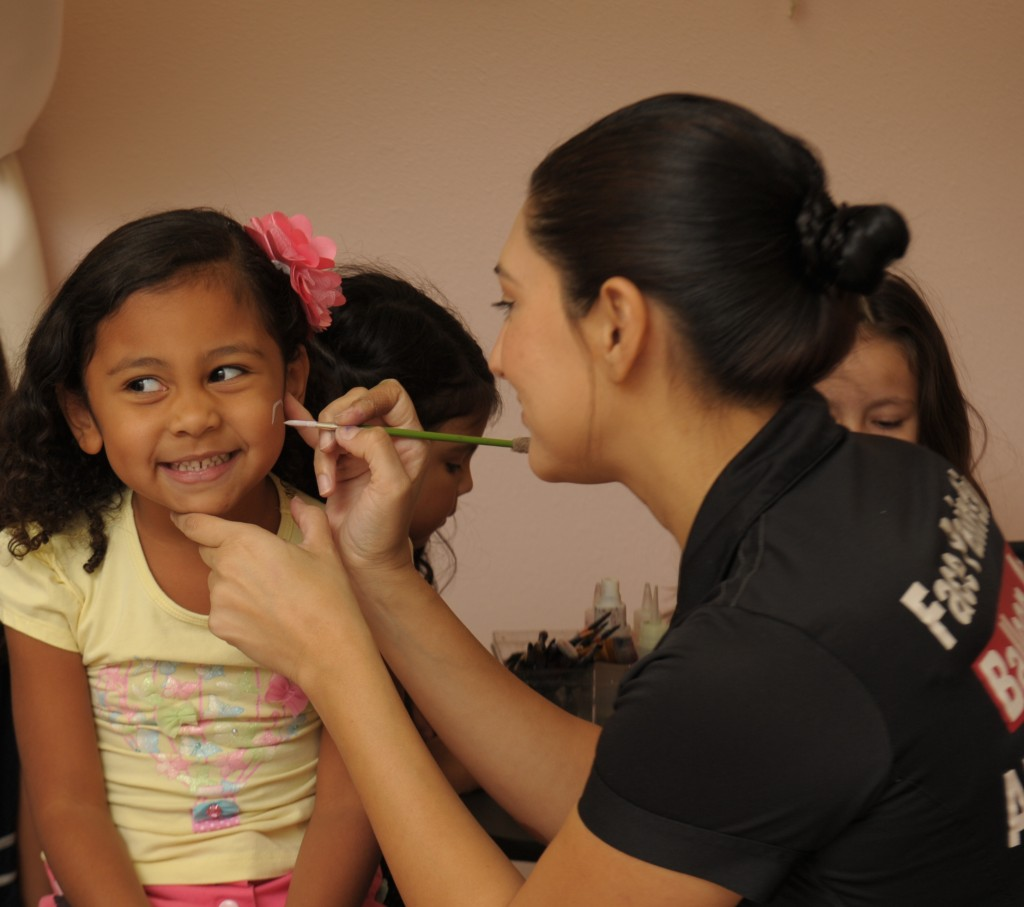 Addy face painting