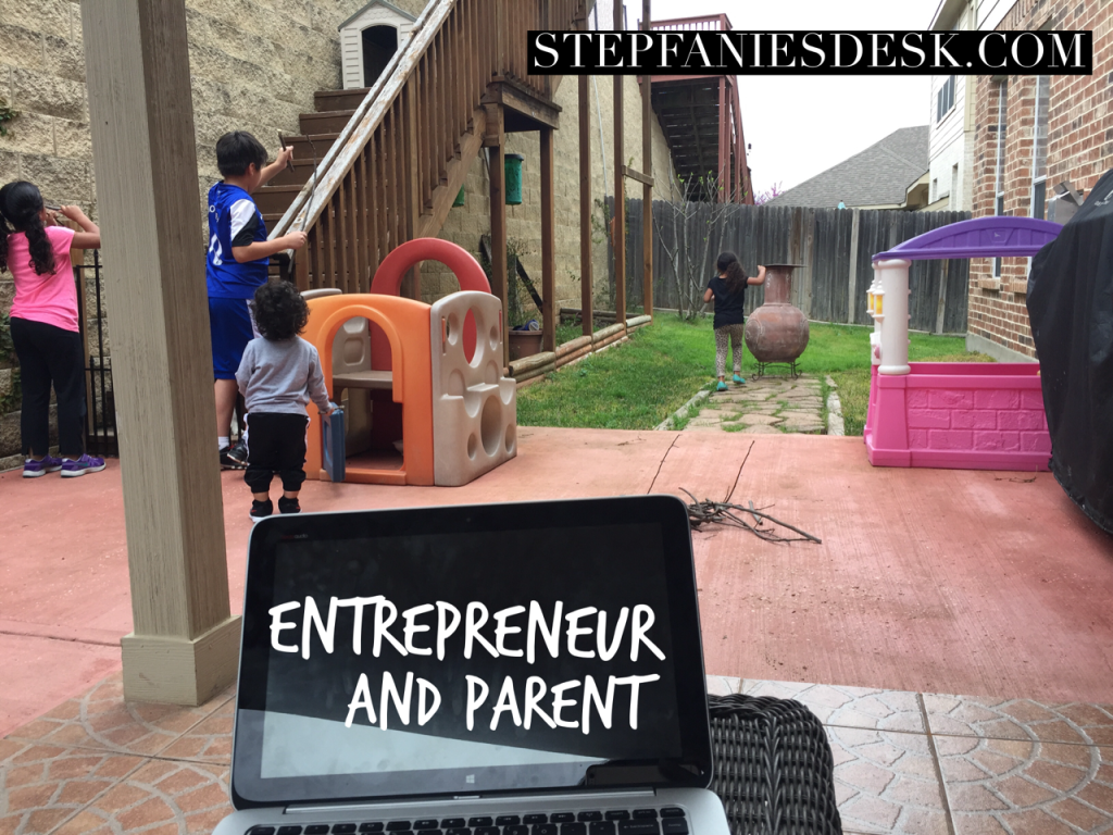 Entrepreneur and Parent, Falling Into Place