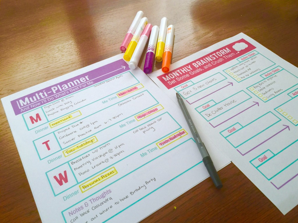 Monthly Free Planner Printable